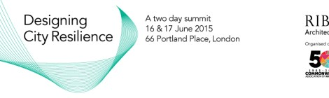 Designing City Resilience Summit 2015