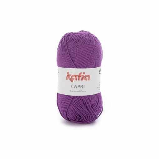 lana-hilo-capri-tejer-algodon-mercerizado-violeta-primavera-verano-katia-82158-fhd