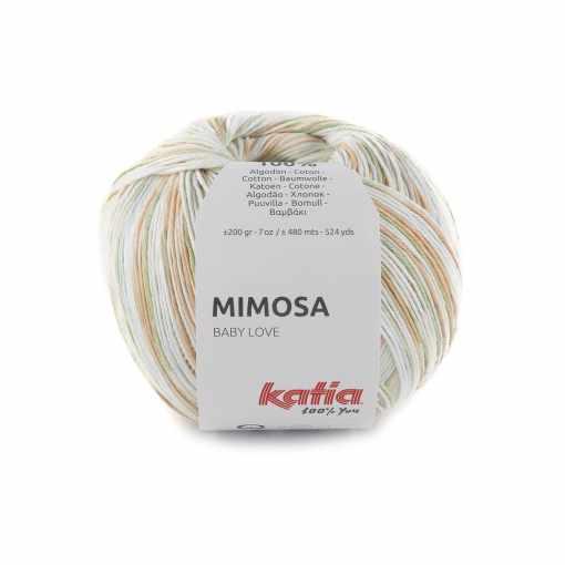 lana-hilo-mimosa-tejer-algodon-caqui-amarillo-miel-azul-primavera-verano-katia-303-fhd