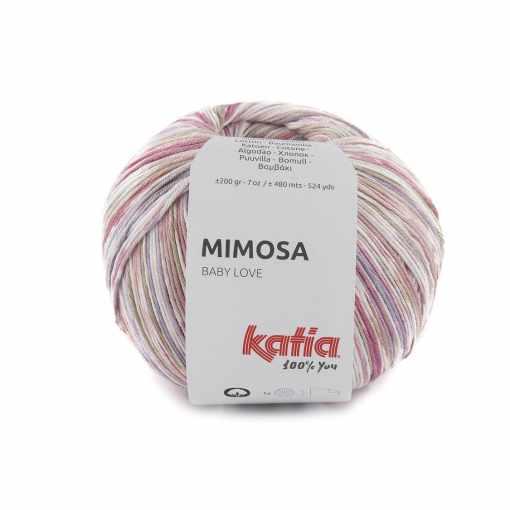 lana-hilo-mimosa-tejer-algodon-rosa-lila-primavera-verano-katia-301-fhd