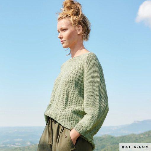patron-tejer-punto-ganchillo-mujer-jersey-primavera-verano-katia-6254-40-g