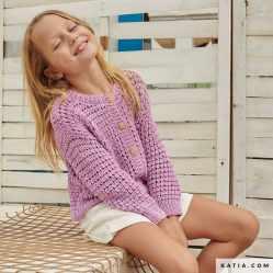 patron jersey niña knitting 2021 prim verano