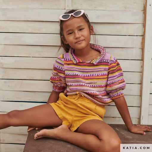patron camiseta niños 2021 verano