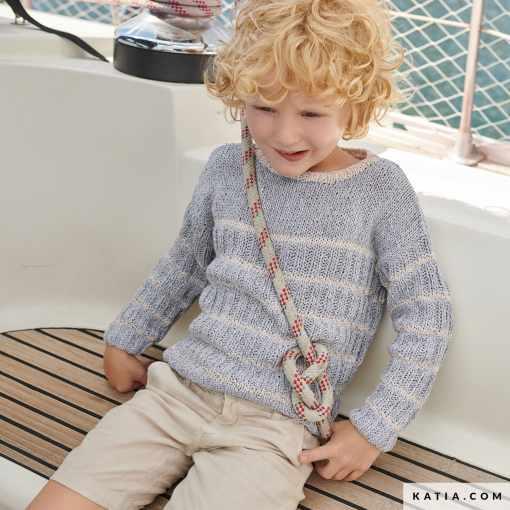 patron jersey niño knitting 2021 prim verano