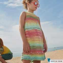 patron vestido niños 2021 verano