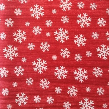 tela_patchwork mascarilla christmash nieve fondo rojo