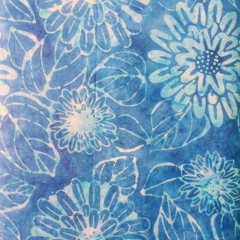 tela patchwork mascarilla flores sophie