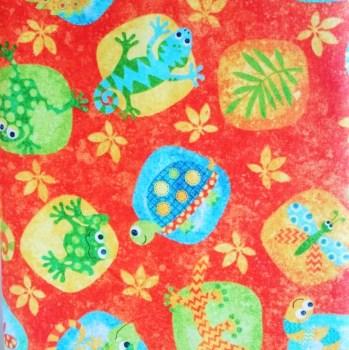 tela_patchwork mascarilla reptile fukus fondo naranja