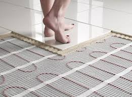 Radiant floor heating or simply floor heating.