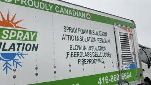 Eco Spray Insulation Truck
