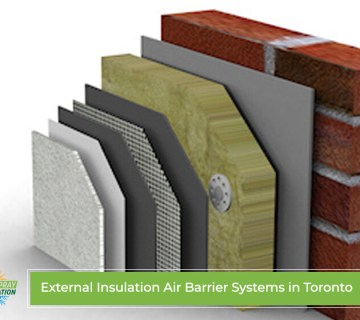 External Insulation Air Barrier Systems in Toronto
