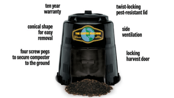 Image of the Earth Machine backyard composter