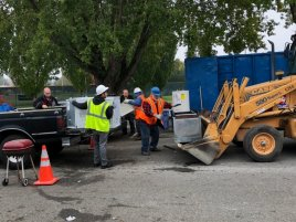 Kent recycling event. Photo Credit: Tony Donati.