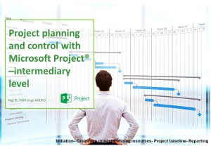 Project planning and control with Microsoft Project