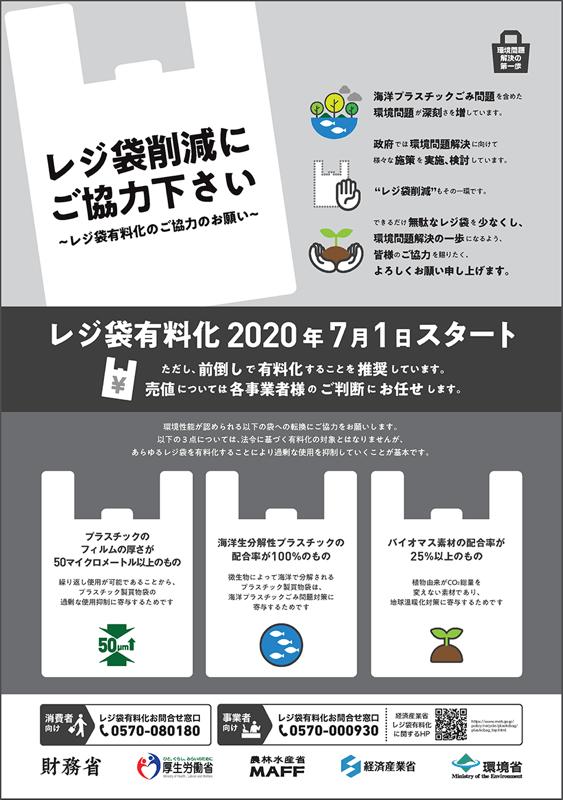 朝倉市 レジ袋有料