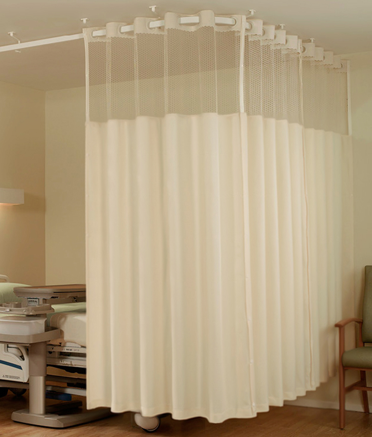 eco trax cubicle curtain system ecotex