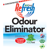 ecototal refresh odour eliminator label