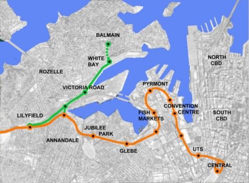 Balmain Light Rail Stage One