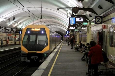 A Millenium train at Museum Station / Photo: Marcus Wong/Wongm's Rail Gallery
