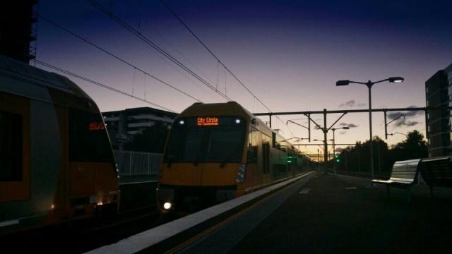 Waratah train at Canterbury Station