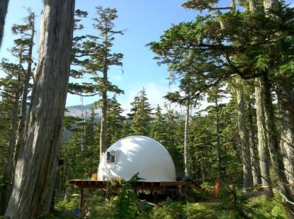 20ft-dome-in-woods-on-Platform