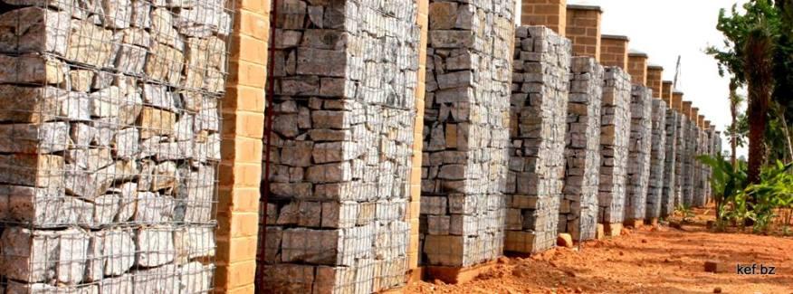 KEV Gabion Wall