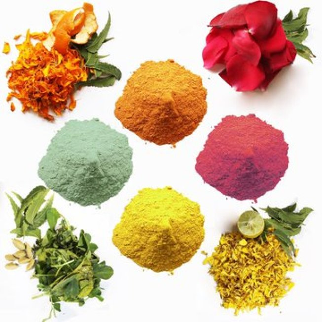 Play Holi with natural colors