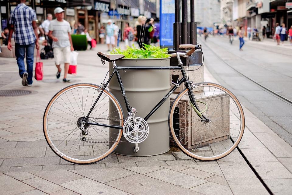green transport urban green living