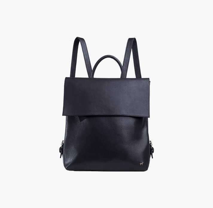The Bradley Leather Backpack from Duffle & Co Sustainable Fashion New Zealand