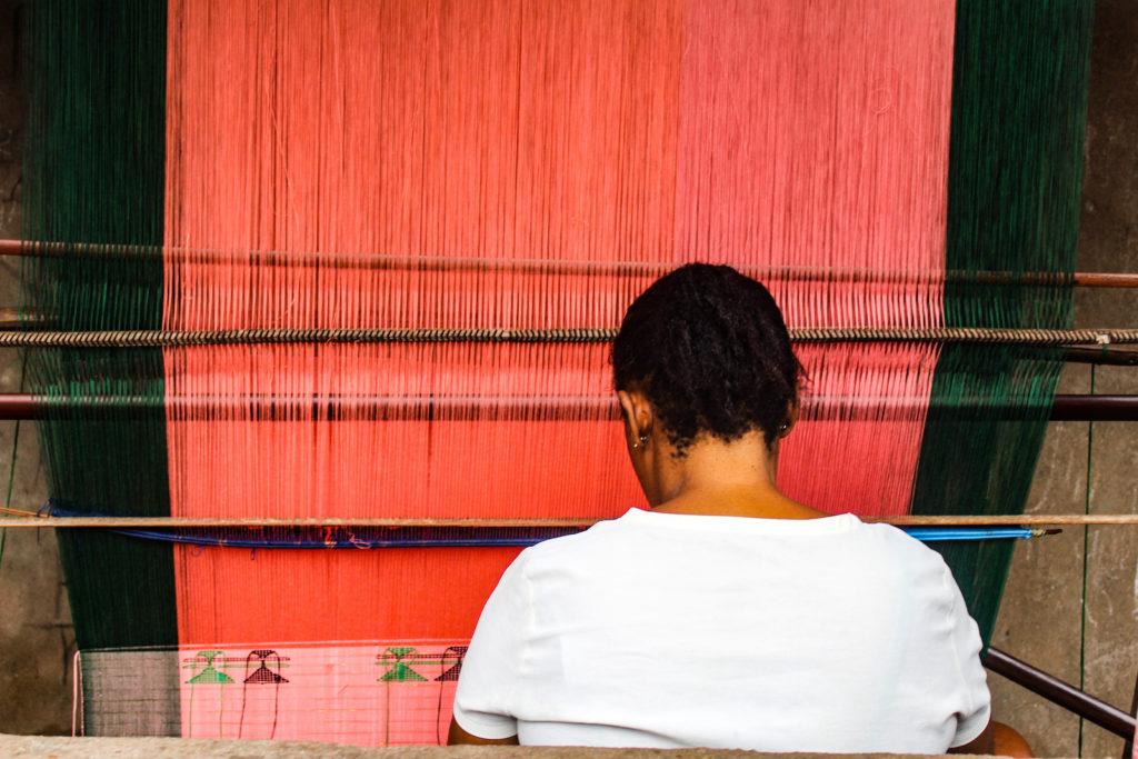 Igbo Weaving and Akwete Fabric in Abia State, Nigeria