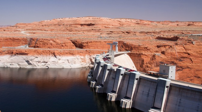 "Plotting ""dead pool"" and other watersheds for Lake Powell and Lake Mead"