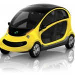 GEM Peapod plug-in electric car