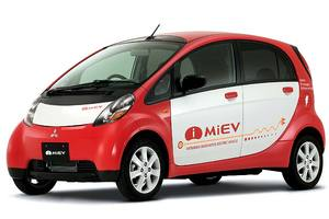 Test Drive: Mitsubishi MiEV plug-in electric car
