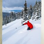 Playing in the powder at Winter Park