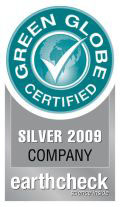 Look for the Green Globe Certified logo