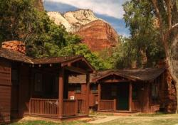 Best green hotels in USA: Zion Lodge, Utah