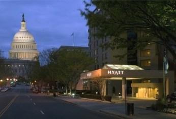 Hyatt Regency DC exterior