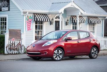 Nissan Leaf EV certified pre-owned