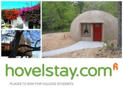 New website for dirt cheap lodging