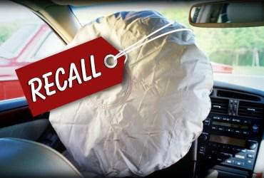 Takata airbag recall list