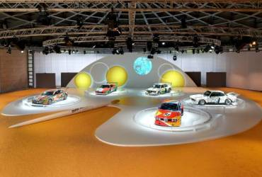 BMW Art Cars 40th Anniversary tour