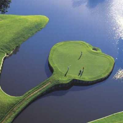 island green 17th hole