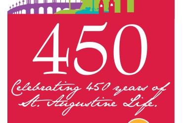 Happy 450th birthday St. Augustine
