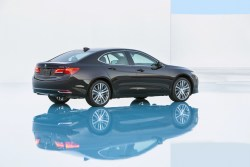Autonomous driving in an Acura TLX