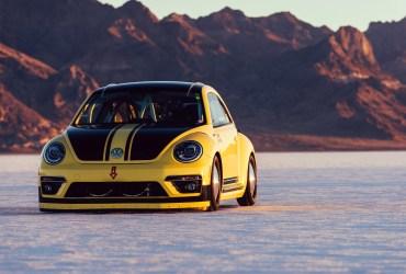 World's fastest VW Beetle hits 205MPH
