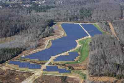 VW solar park Chattanooga