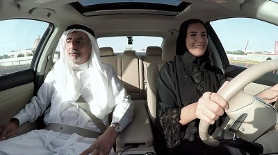 saudi arabia woman learning to drive