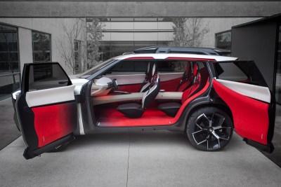 Nissan Xmotion concept car
