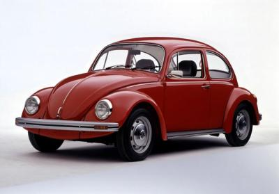 VW Beetle originally designed by Ferdinand Porsche