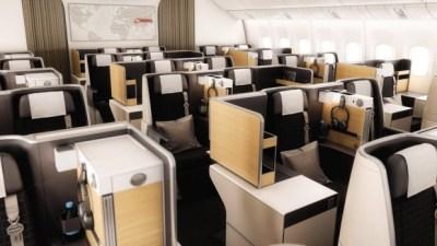 best business class seats